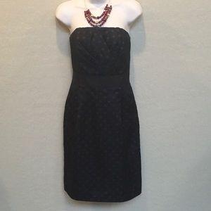 White House Black Market Strapless Dress Size 8